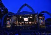 Das Studenten-Sinfonie-Orchester untermalte wie jedes Jahr das Höhenfeuerwerk mit klassischer Musik.©Georg Kronenberg