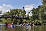 Beim Drachenboot-Rennen machen 28 Mannschaften mit.©Georg Kronenberg