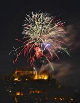 Am Freitag gibt es um 23 Uhr gibt es ein großes Feuerwerk mit Musik.©Georg Kronenberg