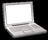 Bild von einem Laptop©Lebenshilfe für Menschen mit geistiger Behinderung Bremen e.V., Illustrator Stefan Albers, Atelier Fleetinsel, 2013
