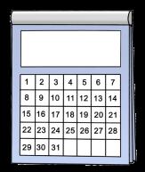 Bild Kalendermonat©Lebenshilfe für Menschen mit geistiger Behinderung Bremen e.V., Illustrator Stefan Albers, Atelier Fleetinsel, 2013