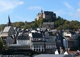 Blick vom Erlenring auf das Schloss©Universitätsstadt Marburg - Rainer Kieselbach