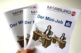 Minijob-Broschüre, Infoheft zum MInijob©Universitätsstadt Marburg, Heike Döhn