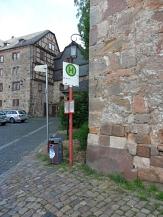 Bushaltestelle am Schloss©Kerstin Hühnlein
