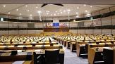 Foto vom Sitzungssaal des EU-Parlaments©Pixabay
