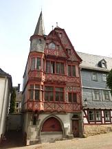 Fachwerkhaus in der Altstadt von Marburg©Kerstin Hühnlein