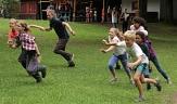 Bewegung wird bei den Ferienspielen groß geschrieben.©Universitätsstadt Marburg, Heiko Krause
