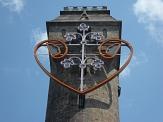 Herz am Spiegelslustturm©Kerstin Hünnlein
