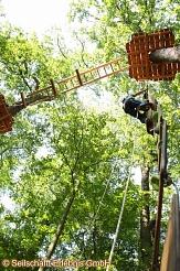Kletterer im Kletterwald Marburg©Seilschafft Erlebnis GmbH