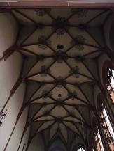 Deckengewölbe Kugelkirche©Kerstin Hühnlein