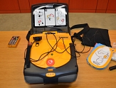 Laien-Defibrillator©Universitätsstadt Marburg