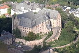 Luftaufnahme Landgrafenschloss Marburg©Rainer Kieselbach