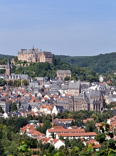 Panoramabild mit Blick auf das Schloss©Georg Kronenberg