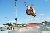 """Beim """"Bash"""" wird der Skatepark im Marburger Georg-Gaßmann-Stadion wieder zum Magneten der Skate- und Musikszene.©Philipp Queitsch/move36"""