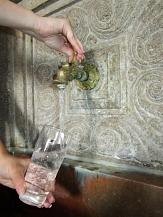 Auch im Rathaus der Stadt Marburg gibt es einen Trinkwasserbrunnen.©Universitätsstadt Marburg