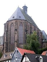 Blick vom Pilgrimstein auf die Universitätskirche©Rainer Kieselbach