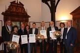 Foto der Preisträger des Jürgen-Markus-Preises©Universitätsstadt Marburg