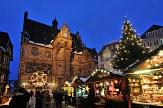 Adventsmarkt am Rathaus©Georg Kronenberg, Stadt Marburg